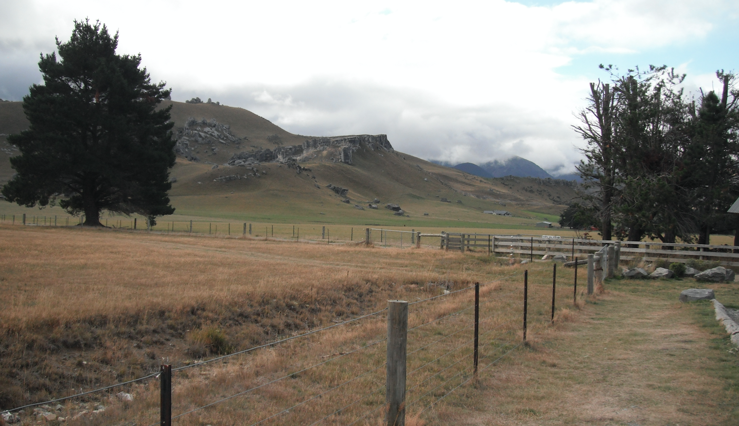 Castle hill nz from road