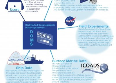 The Distributed Oceanographic Match-Up Service